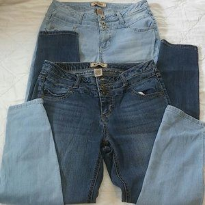 Blue Spice Skinny jeans juniors size 9